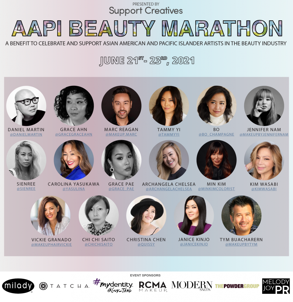 save-the-dates:-beauty-industry-influencers-and-artists-educating-&-inspiring-at-aapi-beauty-marathon,-june-21-23